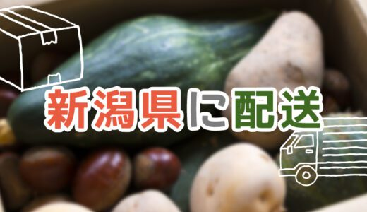 新潟県で利用できる食材宅配おすすめサービスランキング!